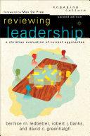 Reviewing Leadership (Engaging Culture) Pdf/ePub eBook
