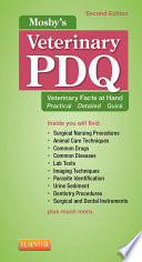 Mosby S Veterinary Pdq E Book