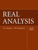 Cover of Real Analysis