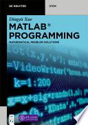 MATLAB   Programming Book