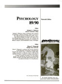 Psychology 89 90