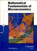 Mathematical Fundamentals Of Micro Economics