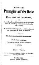 Reichard's Passagier auf der Reise in Deutschland und der Schweiz nach Amsterdam, Brüssel-und Warschau ...