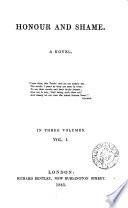 Honour and shame  a novel