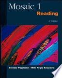 Mosaic 1 Reading