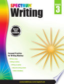 Spectrum Writing Grade 3