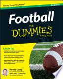 """""""Football For Dummies"""" by Howie Long, John Czarnecki"""