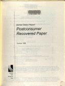 Market Status Report Book