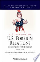 A Companion to U S  Foreign Relations