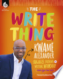 The Write Thing  Kwame Alexander Engages Students in Writing Workshop  And You Can Too