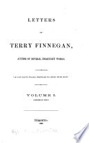 Letters of Terry Finnegan, Author of Several Imaginary Works