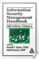 Information Security Management Handbook, Volume 2