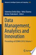 Data Management Analytics And Innovation Book PDF