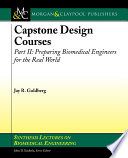 Capstone Design Courses Part Two Book PDF