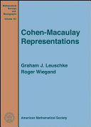 Cohen-Macaulay Representations