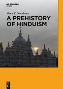 Pdf A Prehistory of Hinduism