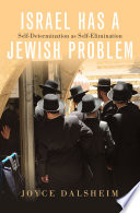 Israel Has a Jewish Problem Book PDF