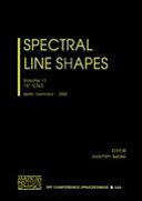 Spectral Line Shapes