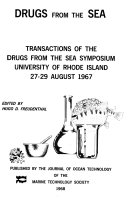 Drugs from the Sea Book