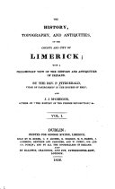 The history, topography, and antiquities, of the county and ...