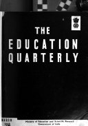The Education Quarterly