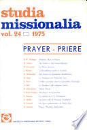 Studua Missionalia  Vol  24