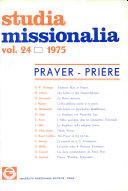 Pdf Studua Missionalia: Vol. 24 Telecharger