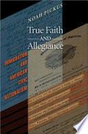 True Faith and Allegiance Book