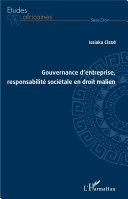Pdf Gouvernance d'entreprise, responsabilité sociétale en droit malien Telecharger