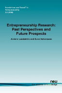 Entrepreneurship Research