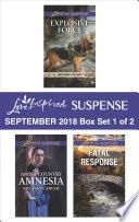 Harlequin Love Inspired Suspense September 2018   Box Set 1 of 2