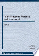 Multi Functional Materials and Structures II