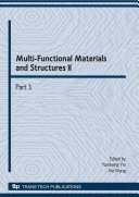Multi-Functional Materials and Structures II
