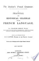 The Student s French Grammar Book