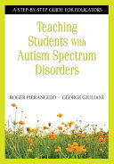 Pdf Teaching Students With Autism Spectrum Disorders Telecharger