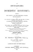 An Encyclopaedia of Domestic Economy