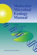 Molecular Microbial Ecology Manual Pdf/ePub eBook