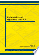 Mechatronics and Applied Mechanics II