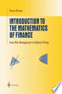 Introduction to the Mathematics of Finance Book