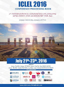 2nd International Conference on Lifelong Education and Leadership for ALL ICLEL 2016
