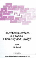 Electrified interfaces in physics, chemistry, and biology