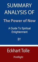 Summary Analysis Of The Power of Now