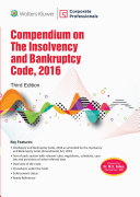 Compendium On The Insolvency And Bankruptcy Code  2016 3Ed