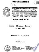 Proceedings of the 6th Ocean Thermal Energy Conversion Conference