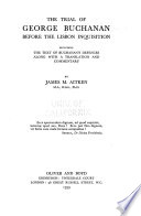 The trial of George Buchanan