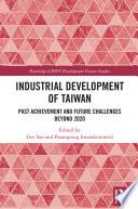 Industrial Development of Taiwan Book
