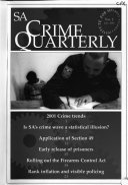 SA Crime Quarterly