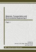 Materials, Transportation and Environmental Engineering II