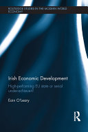 Irish Economic Development Pdf/ePub eBook