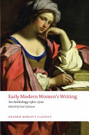 Early Modern Women s Writing